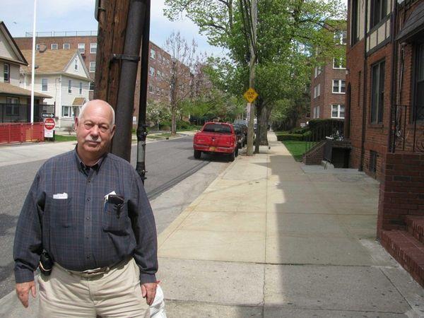Richard Cardozo on Lincoln Avenue in Mineola, where