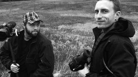 Carle Place native Jonathan Ehlers, 33, left, and
