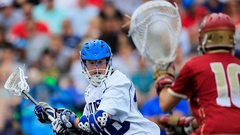 Kyle Keenan of the Duke Blue Devils takes