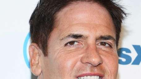Mark Cuban attends SiriusXM's