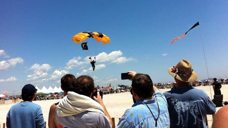 The Golden Knights, the U.S. Army Parachute Team,