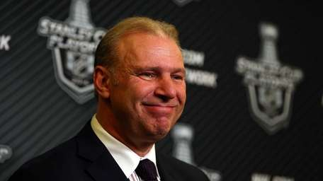 Michel Therrien, headc oach of the Montreal Canadiens,