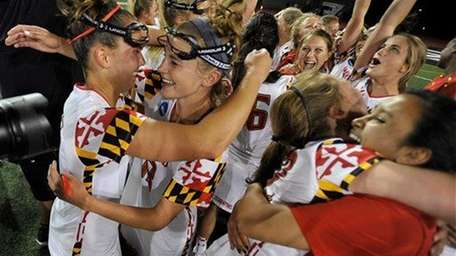 Maryland won the NCAA women's lacrosse title game.
