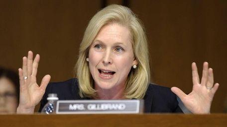 Sen. Kirsten Gillibrand on Capitol Hill in Washington,