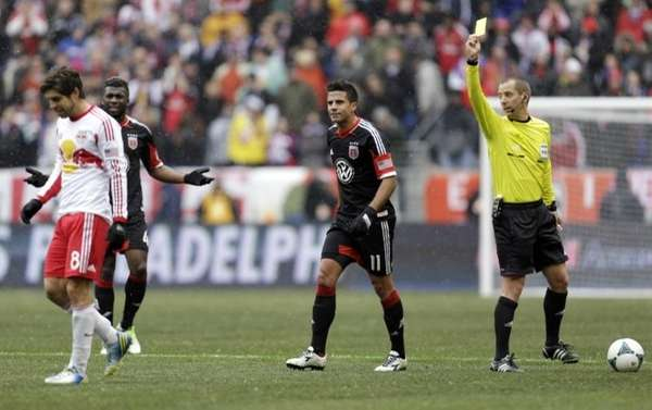 In this March 16, 2013, file photo, referee
