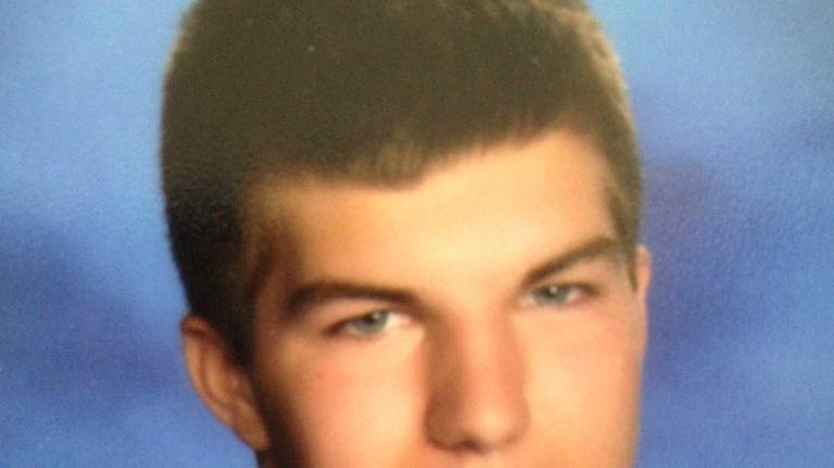Connor Cipp, 18, a senior at Bellport High