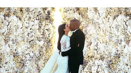 Kim Kardashian and Kanye West wed on May