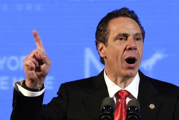 Gov. Andrew M. Cuomo delivers his nomination acceptance