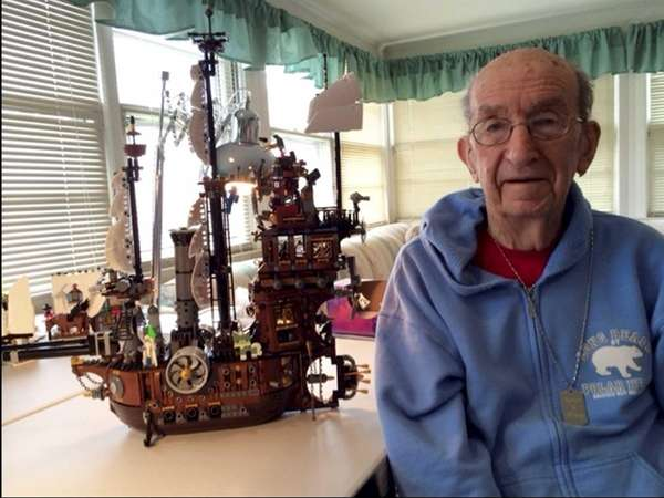 Bay Shore resident Lynda Levy's father, Manny Silberman,