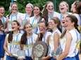 Kellenberg celebrates its win during the CHSAA state