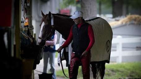 Kentucky Derby and ?Preakness Stakes winner California Chrome