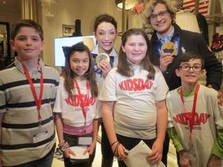 Kidsday reporters interviewed 2014 Olympic Gold winning ice