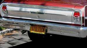 Mike Mancuso of Islip Terrace says this plate