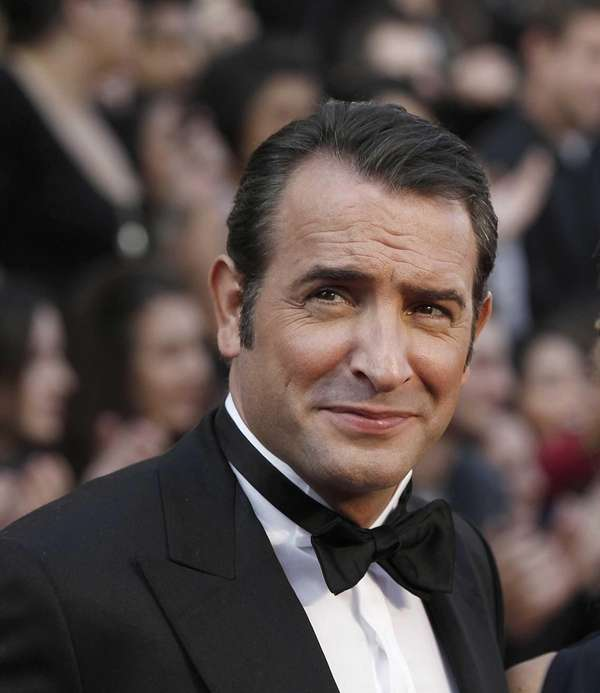 Jean Dujardin arrives before the 84th Academy Awards