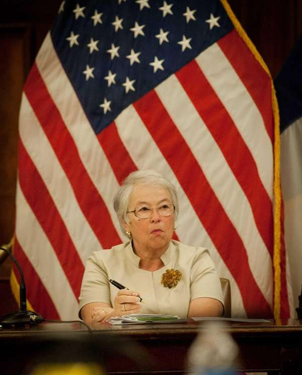 New York City Schools Chancellor Carmen Farina testifies