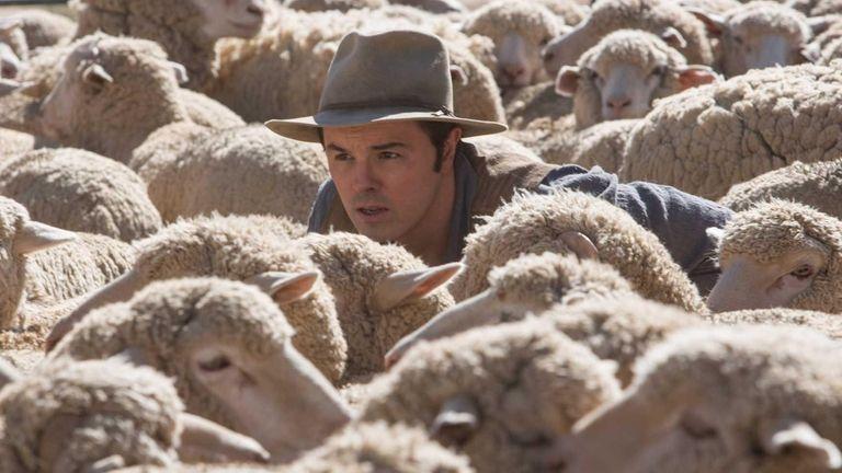 Seth MacFarlane in a scene from