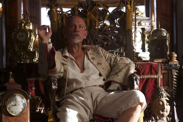 John Malkovich as Blackbeard in the pilot episode