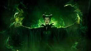 "Maleficent (Angelina Jolie) in Disney's ""Maleficent"" directed by"