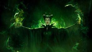 Maleficent (Angelina Jolie) in Disney's