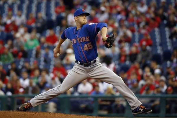 Mets' Zack Wheeler pitches during the first inning