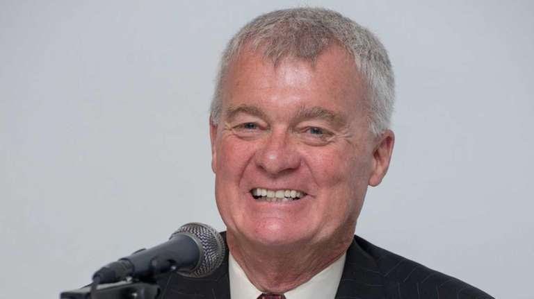 William Mannix, longtime executive director of the Islip