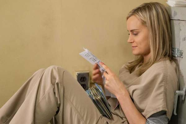 Taylor Schilling in a scene from Netflix's