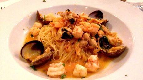 Capellini Marechiaro is a pasta special at Claudio's