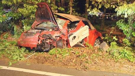 A 23-year-old Miller Place woman, allegedly driving while