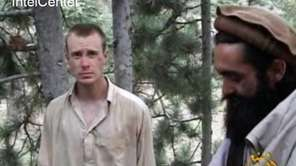 Sgt. Bowe Bergdahl is seen in a frame