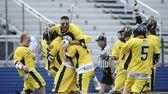 Massapequa celebrates their 31-12 win against Smithtown East