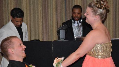 Taylor King and Amanda Jones of Freeland, Pa.,