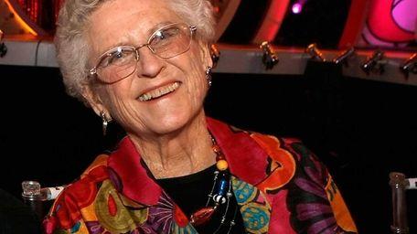 Ann B. Davis backstage at the 5th annual