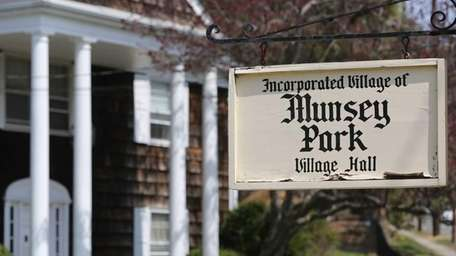 Munsey Park Village Hall is pictured Friday, April