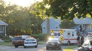 Emergency personnel respond to a shooting on Avon