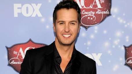 Luke Bryan at the American Country Awards at