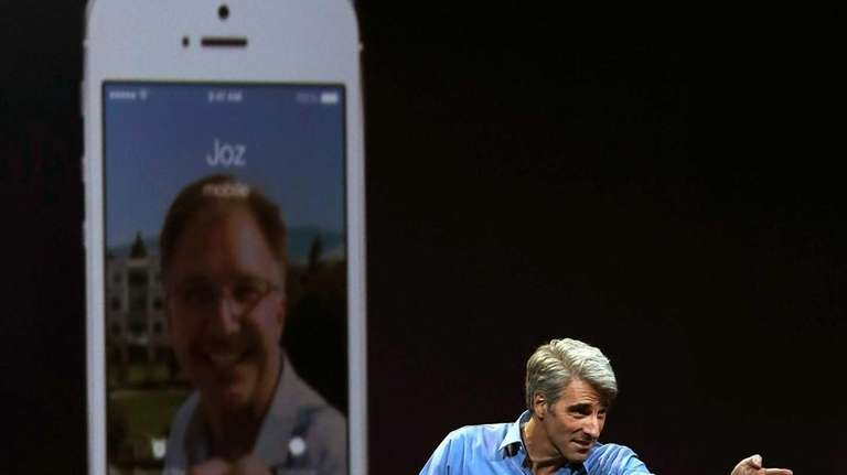 Craig Federighi, Apple senior vice president of software