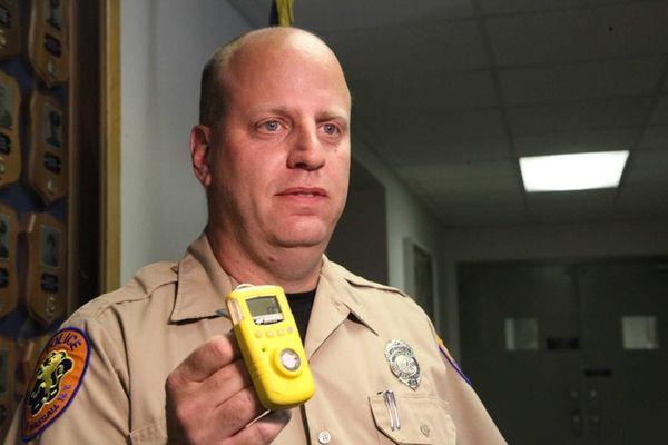 Joseph Biundo, a Nassau County Ambulance Medical Technician,