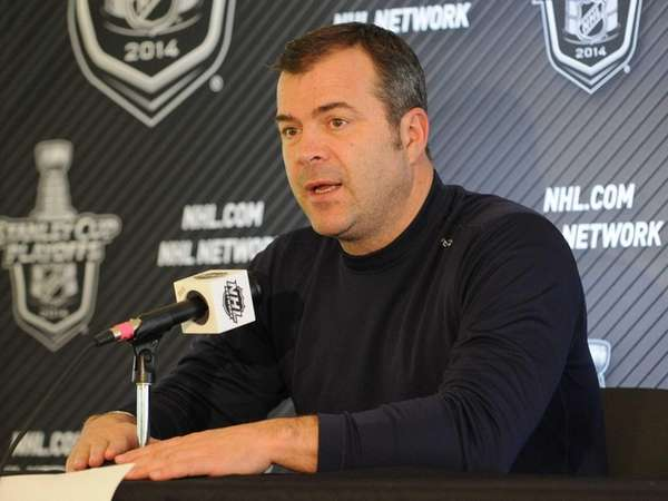 New York Rangers head coach Alain Vigneault speaks