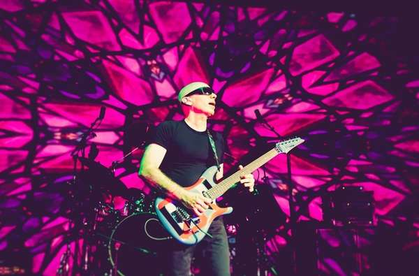 Guitarist Joe Satriani will return to his hometown