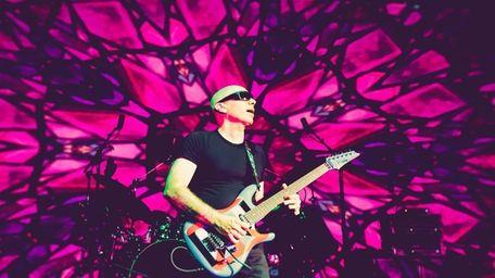 Guitarist Joe Satriani will return to his hometown