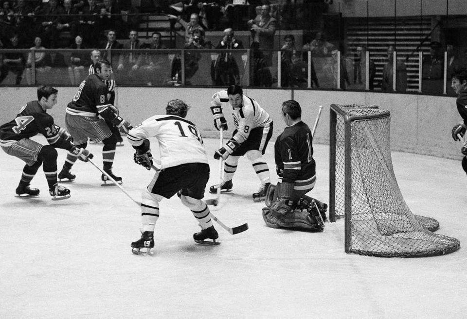 Boston completely dominated the 1972 playoffs. John Bucyk,