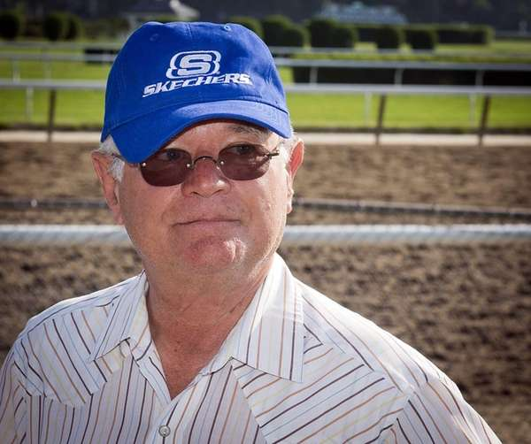 California Chrome's trainer Art Sherman is seen after
