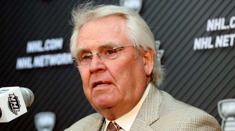 Glen Sather, president and general manager of the