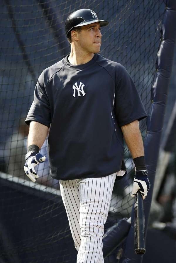 The Yankees' Mark Teixeira, who has suffered from