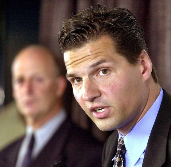 Longtime NHL player and NHL broadcaster Ed Olczyk,
