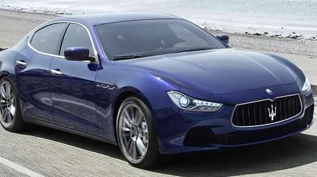 The 2014 Maserati Ghibli carries a suggested retail