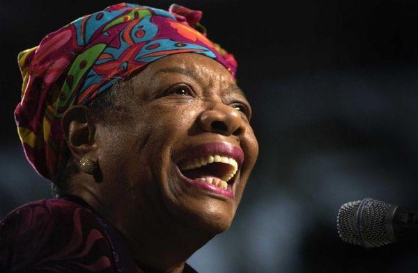 Maya Angelou in 2003.