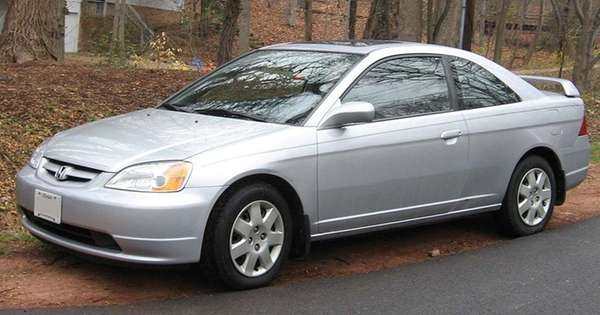 A 2002 Honda Civic