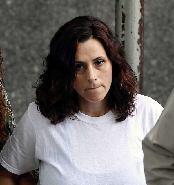 Joy Morsi, 39, of Massapequa, after being arraigned