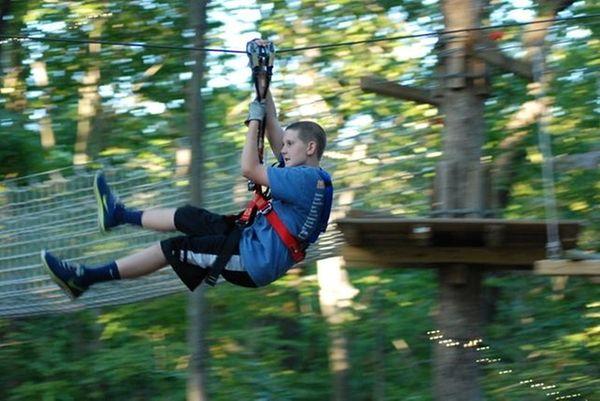 A new zipline park is scheduled to open